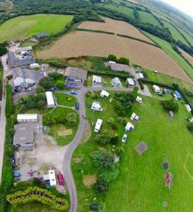 Campsite, Bodmin, Cornwall - Mena Farm